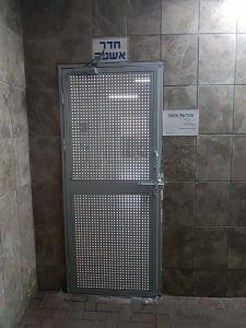 דלת ברזל חדר אשפה