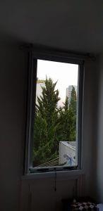 רשת גלילה בחלון גבוה
