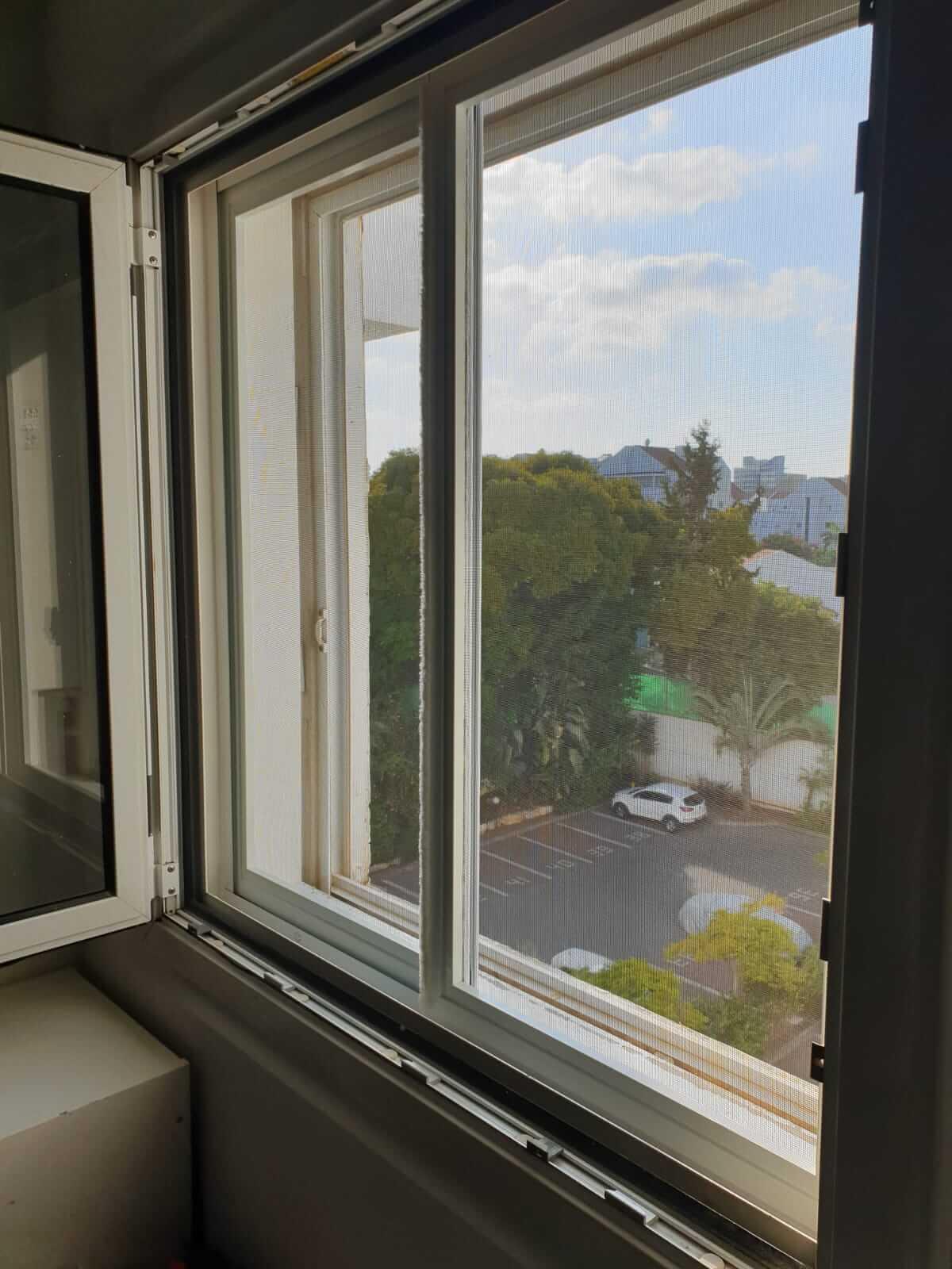 רשת שקופה לחלון